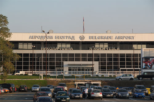 Belgrade Airport Outside